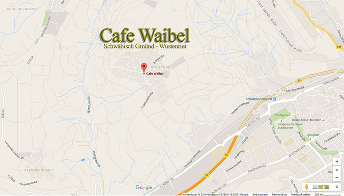 Cafe Waibel - Wustenriet